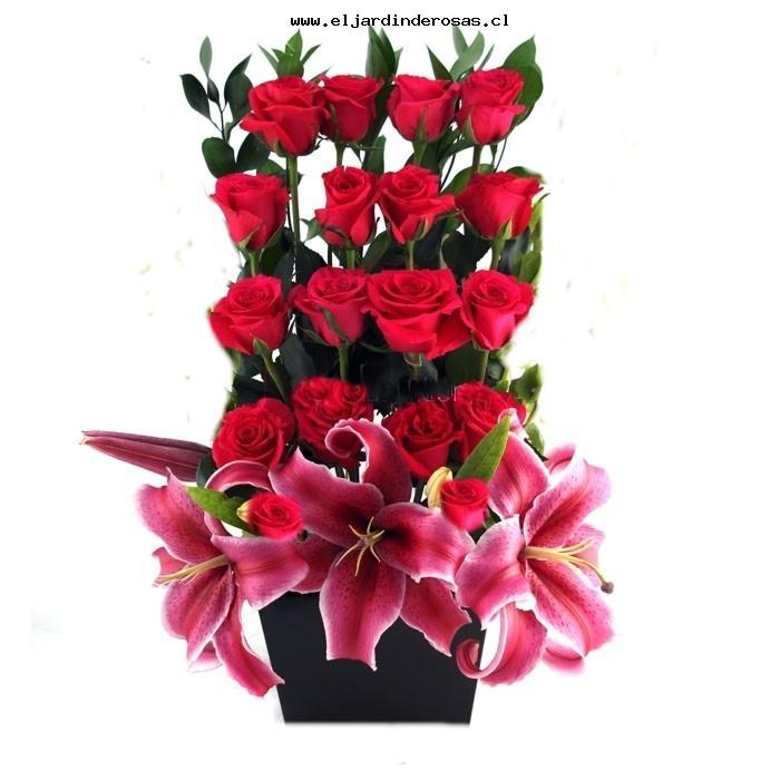 Eljardinderosas Florerias Flores Santiago Chile Envio De