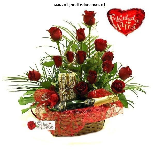 cesta rosas cod cb