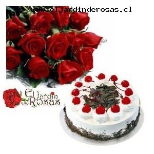 ramo rosas exquisita tortaglobo codrt
