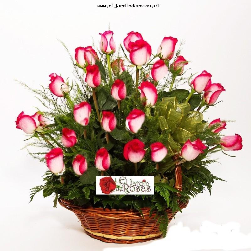 cesta rosas blush globo feliz da mama codceb